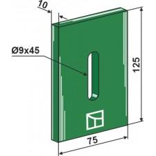 Racloir plastique Greenflex pour rouleaux packer - AG007570