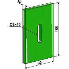 Racloir plastique Greenflex pour rouleaux packer - Lely - 0115
