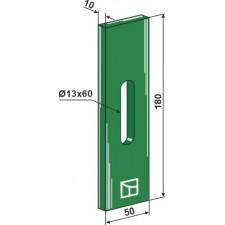 Racloir plastique Greenflex pour rouleaux packer - AG007547