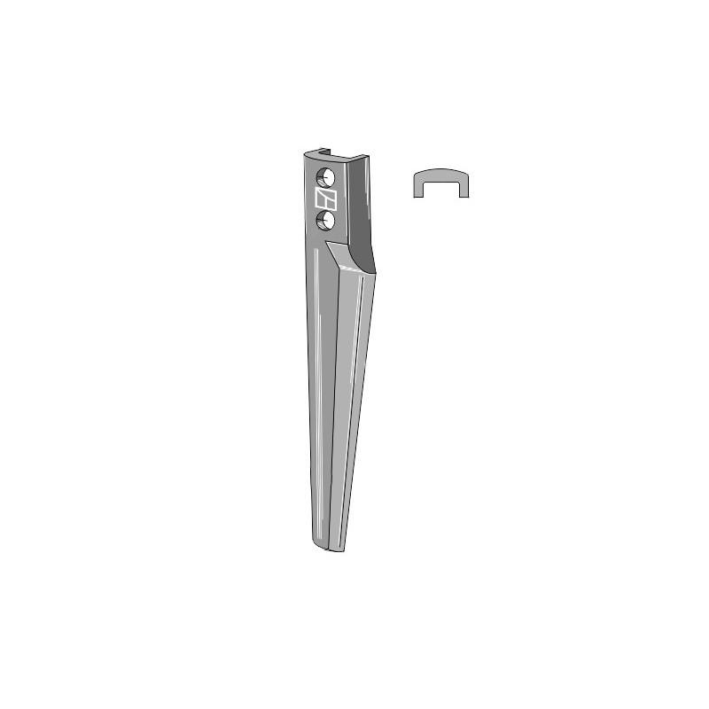 Dent pour herses rotatives, modèle droite - Eberhardt - 302516