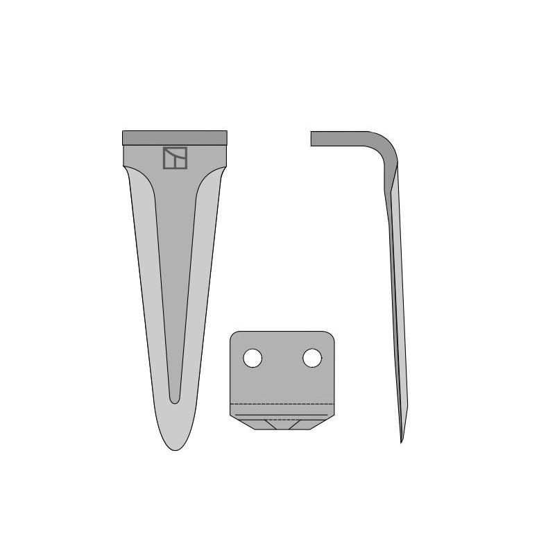 Dent pour herses rotatives - Morra - 9112620000M
