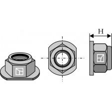 écrou à freinage interne - conique - M24x2 - 8.8