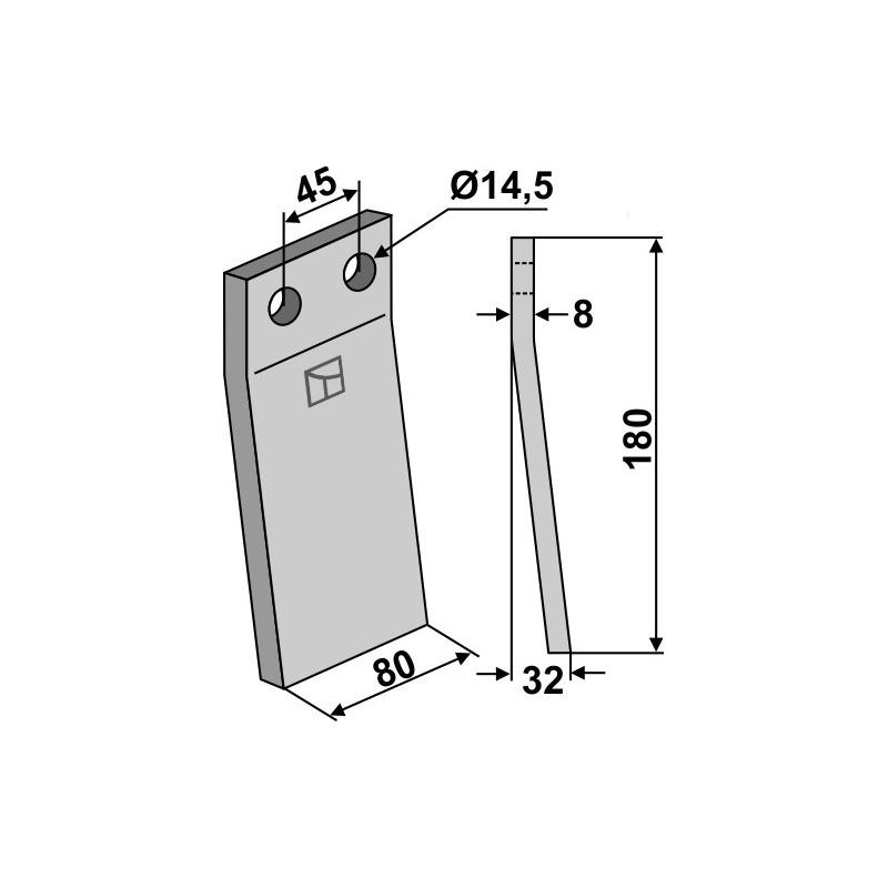 Dent rotative - Maletti - 1101077