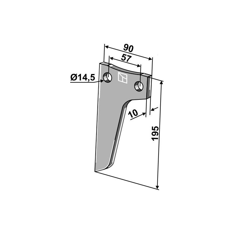 Dent rotative - AG000736